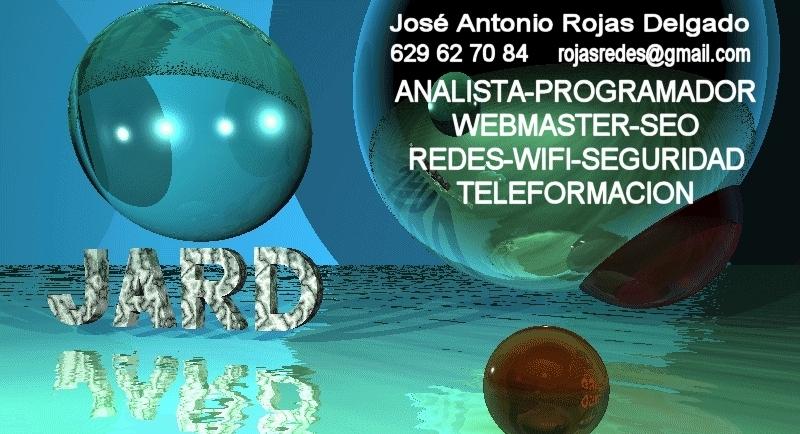 tarjeta de visita de José Antonio Rojas Delgado